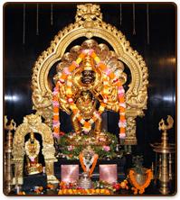 Shri Narasimha :: Temples in Rest of India - Ugra Narasimha, ISKCON
